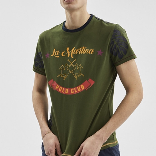t-shirt-vert-la-martina-polo-club-lyon-min